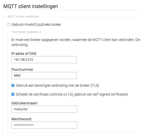 Mosquitto MQTT Client Homey App - using TLS issue — Athom Forum Archive